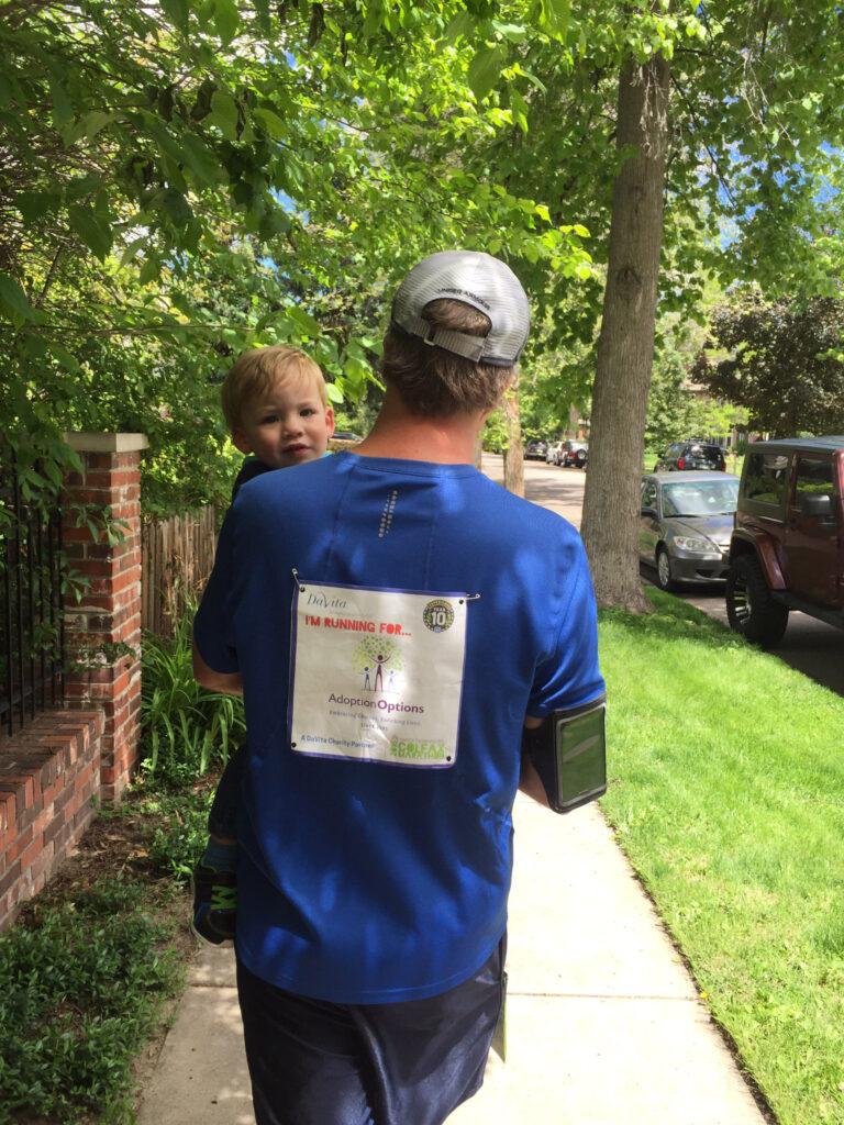 Denver Colfax Marathon bib