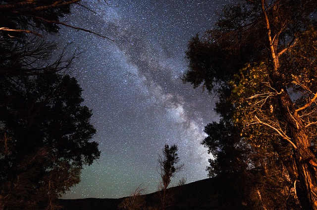 Milky Way near the Williams Fork River